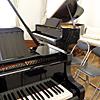 ヤマハグランドピアノ 2台 ツィンルーム 新館サロンにて!